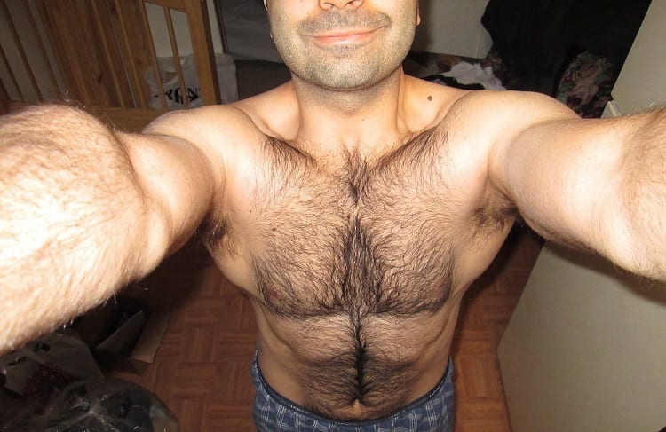 Chest Hair Used To Be A Lot Worse