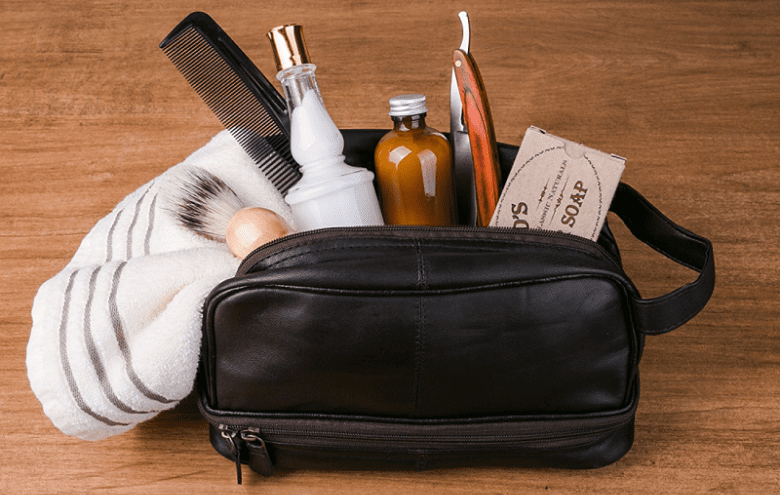 WHAT ARE THE BASICS OF ANY MEN'S TOILETRY BAG?