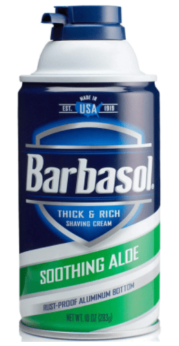 Barbasol Soothing Aloe Thick And Rich Shaving Cream