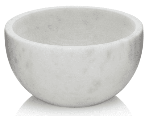 Solid Marble Shaving Soap Bowl (1)