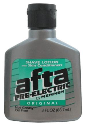 Afta Pre Electric shave